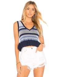 BCBGeneration - Plaited Striped Tank - Lyst