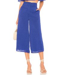 House of Harlow 1960 - X Revolve Gwen Culotte In Royal - Lyst