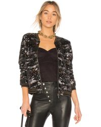 Sanctuary - Camo Sequin Jacket In Black - Lyst