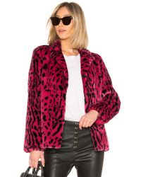 House of Harlow 1960 - X Revolve Virginia Faux Fur Coat - Lyst