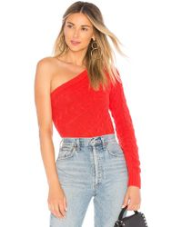 Lovers + Friends - Rachel Jumper In Red - Lyst