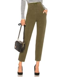 A.L.C. - Kerry Pant In Olive - Lyst