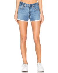 RE/DONE - Levis The Short - Lyst