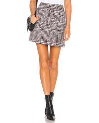 Line & Dot - Thalia Skirt In Black - Lyst