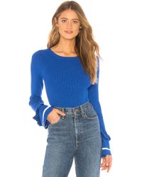 Lovers + Friends - Waterloo Jumper In Blue - Lyst