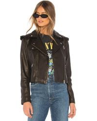 Generation Love - Roxy Ruffle Moto Jacket - Lyst