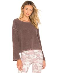 Vimmia - Warmth Crop Pullover In Mauve - Lyst
