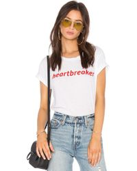 Private Party - Heartbreaker Tee - Lyst