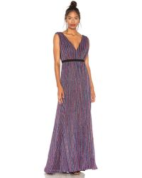 BCBGMAXAZRIA - Multicolored Knit Dress In Multi - Lyst