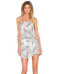 IKKS - Printed Dress - Lyst