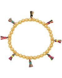 Gorjana - Havana Tassel Bracelet In Metallic Gold. - Lyst