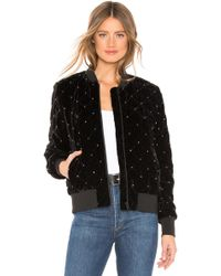 Parker - Meredith Velvet Jacket In Black - Lyst