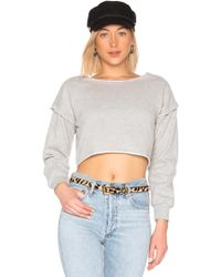 Lovers + Friends - Ansel Sweatshirt In Gray - Lyst