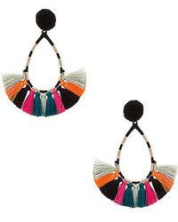 Nannacay - Tulip Earrings In Black. - Lyst