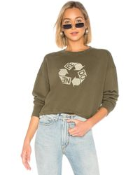 RE/DONE - Recycle Crew Neck Sweatshirt - Lyst