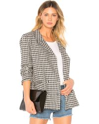 Lovers + Friends - Fanning Blazer In Black - Lyst