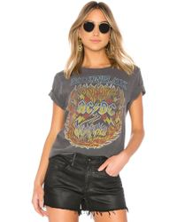 Junk Food - Acdc Back In Black Tee - Lyst