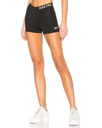 Nike - Pro 3 Inch Short In Black - Lyst