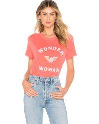 Junk Food - Wonder Woman Tee In Red - Lyst