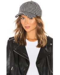 Michael Stars - Cosy Patterned Hat - Lyst