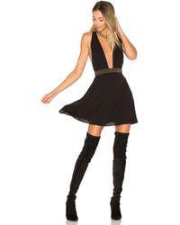 Ále By Alessandra - X Revolve Iria Embellished Dress In Black - Lyst