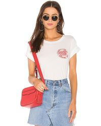 Daydreamer - Mfd Chest Dot Classic Tee In White - Lyst