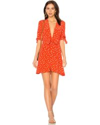Faithfull The Brand - Birgit Dress In Orange - Lyst