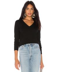 6e3baa316e 525 America - Signature V-neck Pullover In Black - Lyst