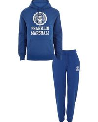 River Island | Blue Franklin And Marshall Hoodie Outfit Blue Franklin And Marshall Hoodie Outfit | Lyst