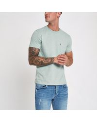 Levi's - Light Blue Short Sleeve Pocket T-shirt - Lyst