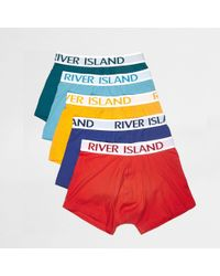 River Island - Multicolored Hipster Multipack - Lyst