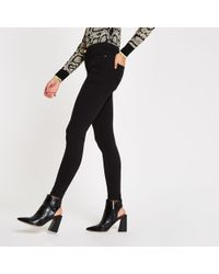 f269111f33 River Island - Molly Reform jeggings - Lyst