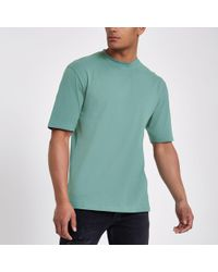 River Island - Only And Sons Green Oversized T-shirt - Lyst