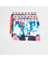 Hype - Purple Galaxy Print Boxers Multipack - Lyst