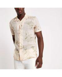 Bellfield - Floral Print Shirt - Lyst