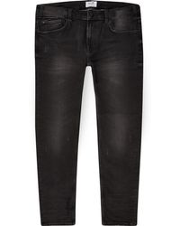 River Island - Only And Sons Big And Tall Black Skinny Jeans - Lyst