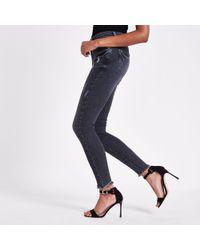 River Island - Rl Amelie Super Skinny Jeans - Lyst