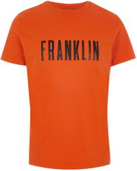 River Island - Franklin And Marshall 'franklin' T-shirt - Lyst