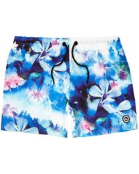 Hype - Floral Print Swim Shorts - Lyst