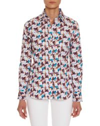 Robert Graham - Carmen Fish Prints Shirt - Lyst