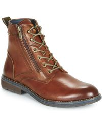 new product b82c9 ce743 Pikolinos Caceres Olmo Garnet Men's Mid Boots In Multicolour ...