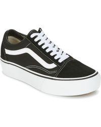 Vans - Ua Old Skool Platfor Shoes (trainers) - Lyst