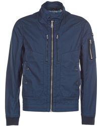 Schott Nyc - Hawker Men's Jacket In Blue - Lyst