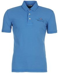 Napapijri - Elbas Men's Polo Shirt In Blue - Lyst