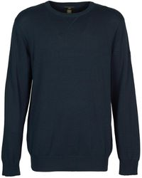 Timberland - Williams River Crew Men's Jumper In Blue - Lyst