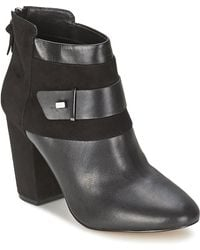 French Connection - Lira Low Ankle Boots - Lyst
