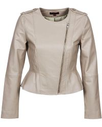 Rene' Derhy | Roulade Leather Jacket | Lyst