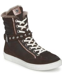 Janet & Janet - Morobrad Shoes (high-top Trainers) - Lyst