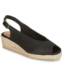 3b562423242 Castaner - Dosalia Women s Sandals In Black - Lyst