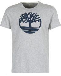 Timberland - Ss Kennebec River Brand Tree Tee T Shirt - Lyst